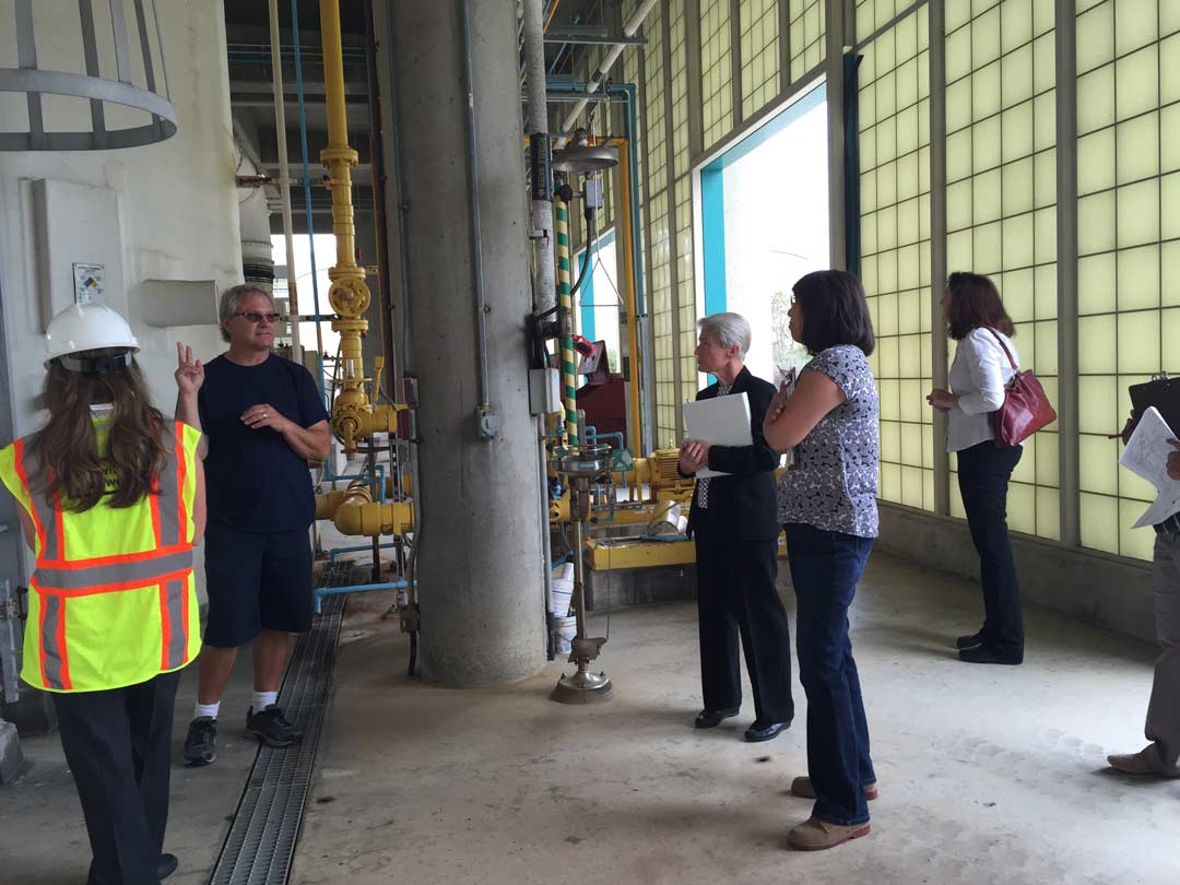 Pure Water SD Group on Site Tour